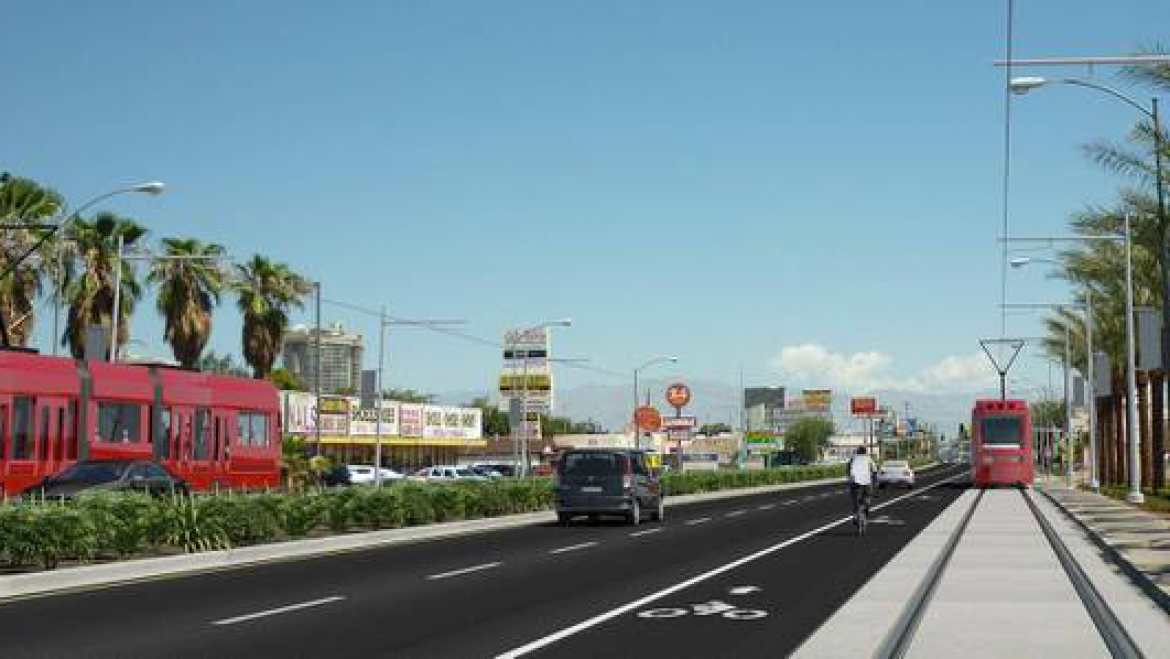 "Las Vegas Sun ""Vision of refreshed Maryland Parkway includes four districts, mass transit"""